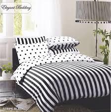 black white striped bedding set duvet cover pillow covers uk