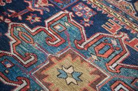 rug red blue persian karaja with blue oriental rugs