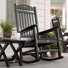 trex outdoor furniture txr100 yacht club outdoor rocking chair lowe s canada