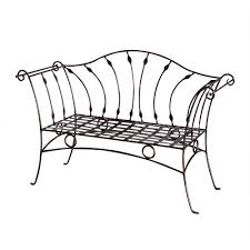 Park Bench Walmart Wrought Iron Patio Furniture At Home Depot Creative Patio