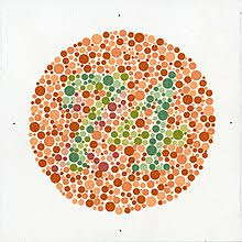 Based on the results of your color blindness test, color spectrum is generated as you see and display it next to a normal color spectrum. Shinobu Ishihara Wikipedia