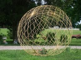Decorative Metal Yard Signs Metal Garden Yard Art Balls Spheres 81