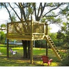 simple tree platforms. Kids Tree House Design Ideas, Pictures, Remodel, And Decor - Page 7 Simple Platforms E
