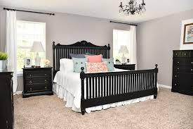 Image Wall Color How To Nest For Less Budget Master Bedroom Makeover With Black Furniture