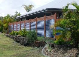 Plain Sheet Metal Fence Unbelievable Corrugated For Design Decorating