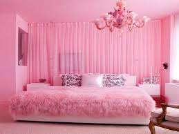 Pink And Brown Bedroom Decorating Pink Bedroom Wall Designs Atrractive Bookcase On The Wall Pink