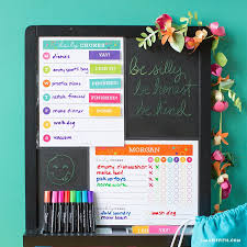 Get Organized For Summer With Free Chore Chart Templates