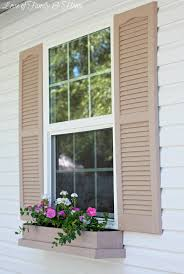 Build Window Box Easy Inexpensive Diy Window Boxes Love Of Family Home