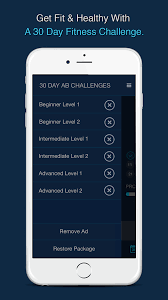 Amazon Com 30 Day Ab Challenge Appstore For Android