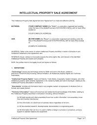 Intellectual Property Nda Template Intellectual Property Protection Agreement Template