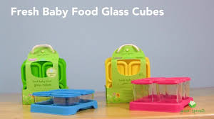 green sprouts fresh baby food gl cubes
