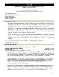 It Support Specialist Resumes Sample Resume For An Information