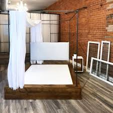Atelier Platform Canopy Bed Shop — MBM MADE BY MADRIGAL by ...