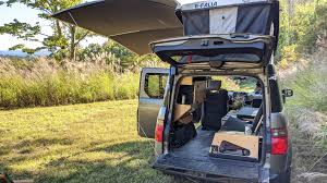 Thanks to that, element will arrive with a better look, but its boxy shape remains. 100 Honda Element Camper System Ideas In 2021 Honda Element Camper Honda Element Camper Conversion