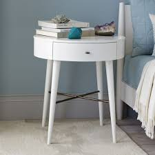 round night stand nightstand ideas penelope white throughout stands prepare 2