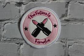 Sew Inappropriate Designs The Future Is Female Patch In The Hoop Embroidery Design Digital File