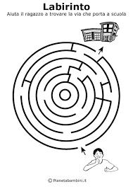 Labirinti Da Stampare Per Bambini Di 5 Anni Circa Doolhof Stampe