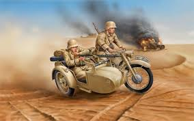 Imagini pentru MOTOCICLETE CU SOLDATI