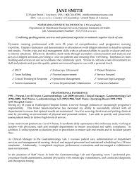 Resume Examples Develop Nursing Care Or Nurse Sample With For New