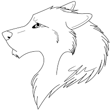 Wolf Coloring Pages Easy