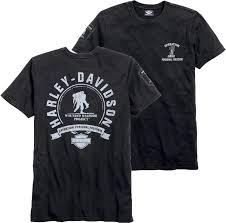 harley davidson men s black wounded warrior project t shirt 99060
