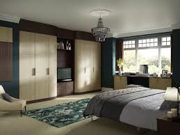 Modern Fitted Bedroom Furniture Fitted Wardrobes With Tv Space Home Sweet Home Pinterest