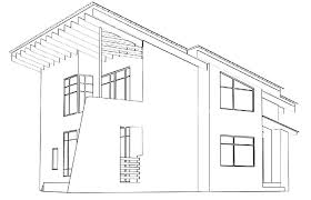 Architecture House Drawing Sidecrutex Modern Houses Architectural
