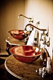 copper bathroom fixtures. masculine modern industrial indesign design copper bath australia- put the bowls in counter to use as sinks bathroom fixtures