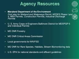 Maryland Wetland Law And Compliance