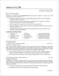 Registered Nurse Resume Examples Directory Resume