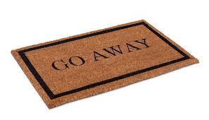 Amazon.com : BirdRock Home Go Away Coir Doormat | 18 x 30 Inch ...
