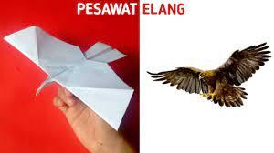 Ori memiliki arti lipat sedangkan kami berarti kertas. Cara Membuat Pesawat Burung Elang Terbang Lama Youtube