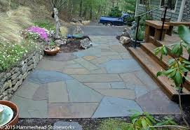 blue stone patio a patio of and full color by masonry company hammerhead flagstone patio cost