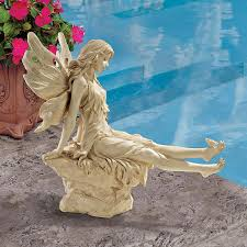 Design Toscano Wholesale Uk Twinkle Toes Fairy Garden Ornament By Design Toscano