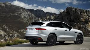 2017 Jaguar F-PACE 2.0d R-Sport AWD Diesel (Color: Rhodium Silver) - Rear  Wallpaper