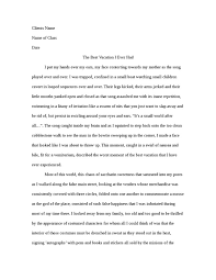 my best vacation essay co my best vacation essay