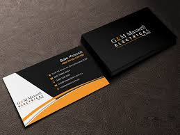 2019 Business Card Designs Professional Serious Business Business Card Design For A