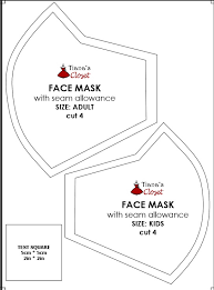 sewing your own face mask to fight