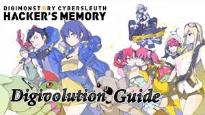 Digimon Cyber Sleuth Digivolution Chart Digivolution Guide Digimon Story Cyber Sleuth Hackers Memory
