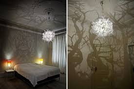 the forms in nature chandelier will transform your walls into a haunted forest