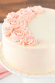 Rose Water Vanilla Cake Recipe Easy Elegant Vanilla Cake Recipe