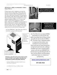 rotary screw air compressor operating instructions 28 polar compressor