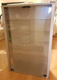 standard vitrosa tall cabinet wall glass display cabinet with hinges door