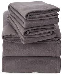 microfleece sheet set. Simple Set Peak Performance SHET20592 Fleece Sheet Set And Microfleece