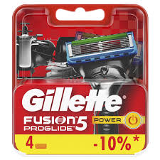 <b>Сменные кассеты для бритья</b> GILLETTE FUSION ProGlide Power ...