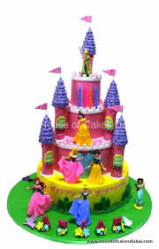 Disney Princesses Castle Cake 6