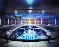 hydropolis underwater resort hotel. Courtesy Of Deep Ocean Technology Hydropolis Underwater Resort Hotel
