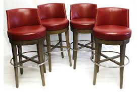 red leather bar stools. Red Bar Stools Gorgeous Leather Stool A Set Of Four Modern With N
