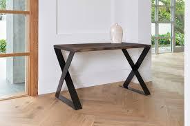 modern rustic desk z legs x legs modern desk office desk dark walnut stained wood desk