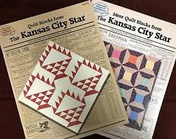 Quilt Blocks and More Quilt Blocks from the Kansas City Star by Nettie  McCathron | eBay